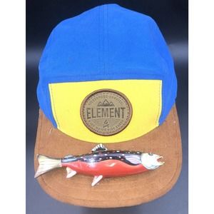 ELEMENT Leather Mountain Hat Fishing